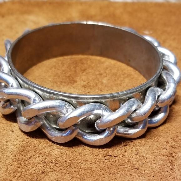 Janna Conner Silver Bangle Bracelet
